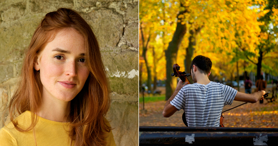 lifestyle product photography woman man playing cello