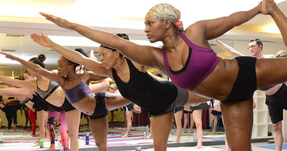 event photography yoga